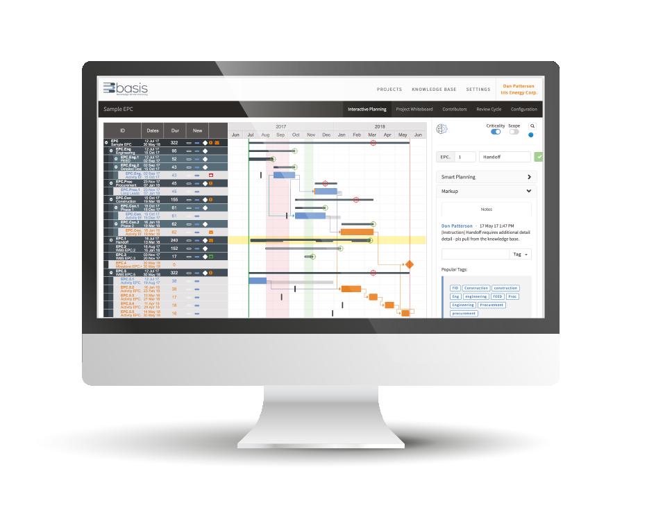 Basis Interactive Planning Software