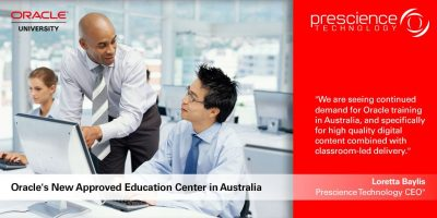 oracle education center - prescience technology