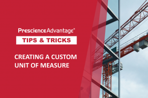 CREATING A CUSTOM UNIT OF MEASURE – PRIMAVERA TIPS AND TRICKS