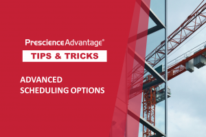 ADVANCED SCHEDULING OPTIONS – PRIMAVERA P6 TIPS AND TRICKS