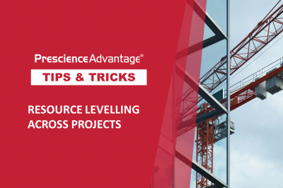 RESOURCE LEVELLING ACROSS PROJECTS
