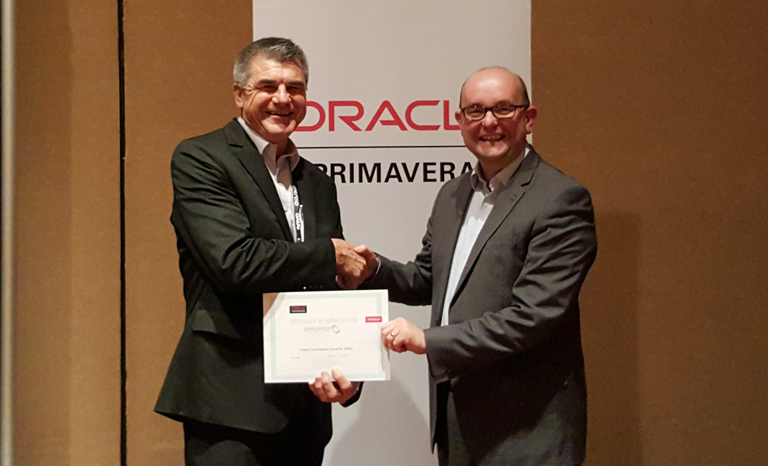ORACLE AWARDS PRESCIENCE TECHNOLOGY NO. 1 PRIMAVERA CLOUD PARTNER IN JAPAC