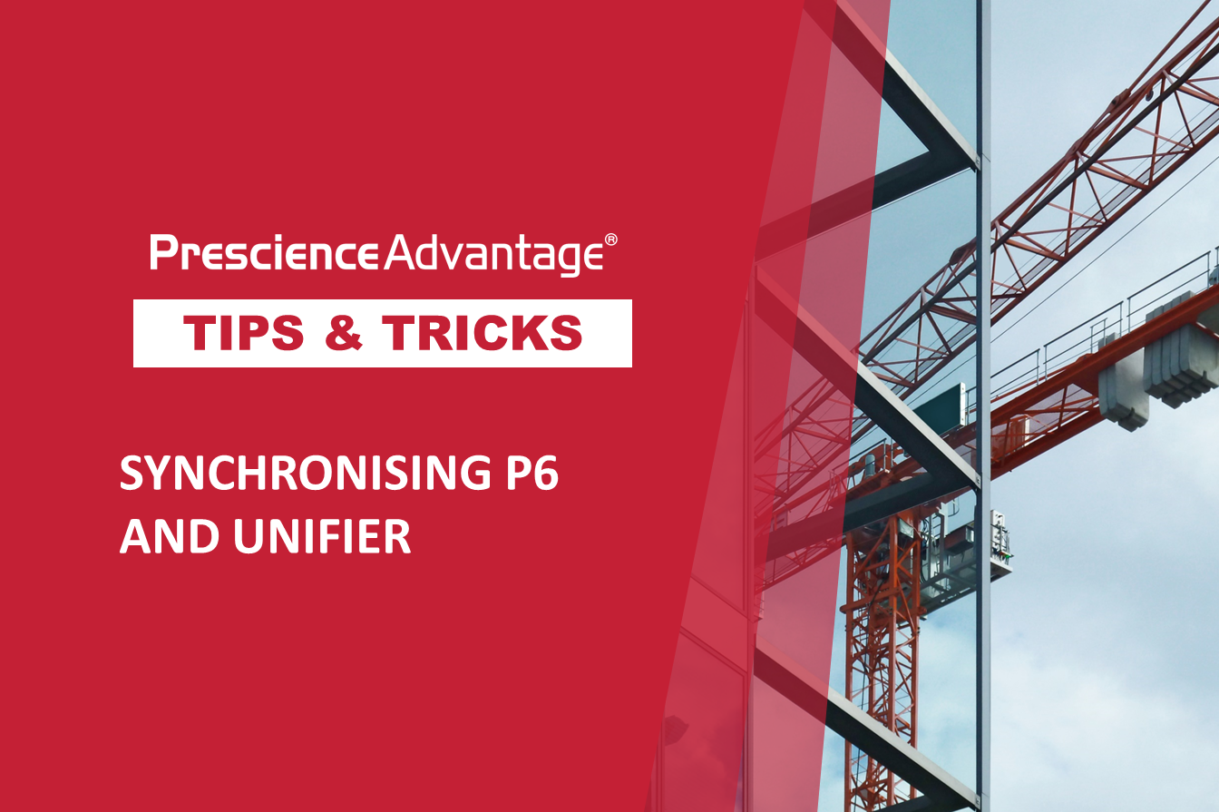 SYNCHRONISING P6 AND UNIFIER