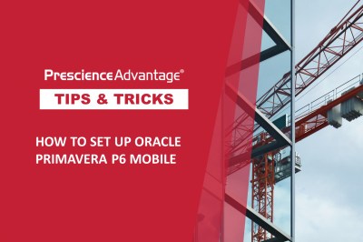 HOW TO SET UP ORACLE PRIMAVERA P6 MOBILE