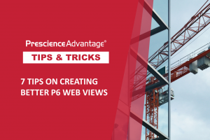 7 TIPS ON CREATING BETTER P6 WEB VIEWS